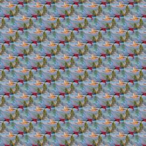 Serenity Birds Fabric