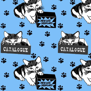 Yorkshire Cats - Elladora blue