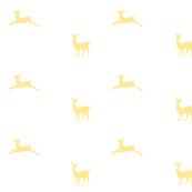 Deer 2 - White Custard