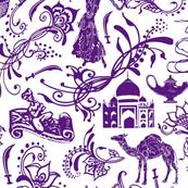 Arabian Nights in Lavender - Large