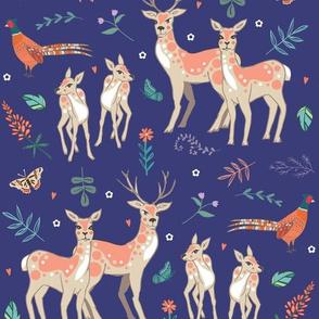 Deer & Pheasant