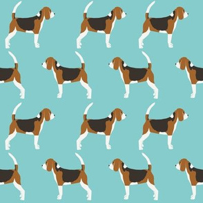 beagles pet dog dogs beagle pets blue classic dog fabric