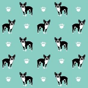 boston terrier mint kids dog dogs mint baby nursery sweet pets