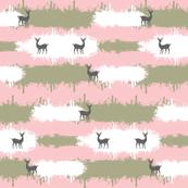 deer camo  2  LG - pink