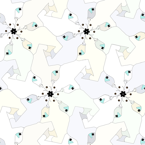 Polar Bear Tesselation 2