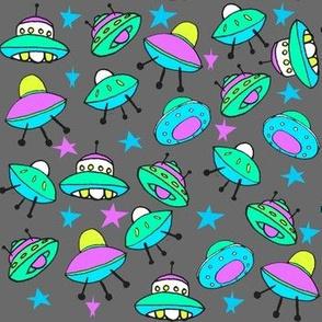 Cute UFOs