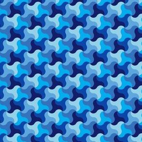 Blue Alhambra Camouflage