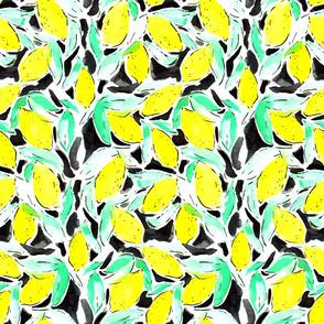 Bold Lemons Black