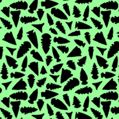 Scattered Arrowheads on Mint - Small