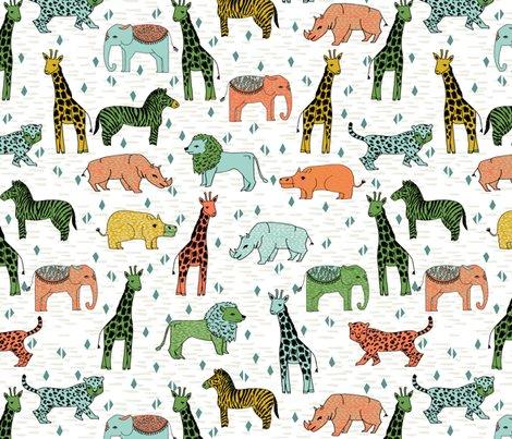 Jungle safari zoo animals kids baby giraffe zebra for Childrens jungle print fabric