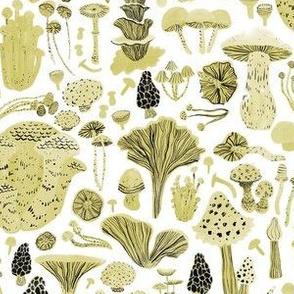 Mushroom Bounty in Gold