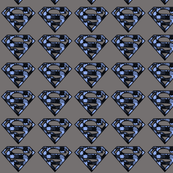Blue Camo Puzzle Super Hero