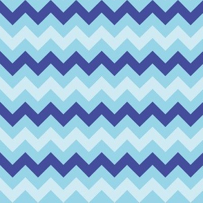 Blue Chevrons