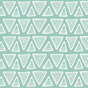Triangulate Geometric Aqua