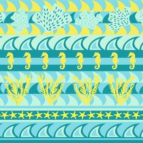 Stripes of the Ocean