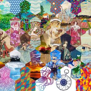 "10"" Tessellation Panel #3"