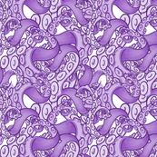 Purple tentacles