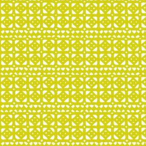 Veranda Geometric Yellow Green