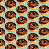 Chocolate Donut - Teal