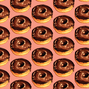 Chocolate Donut - Pink
