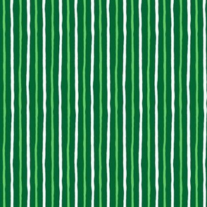 Minty Goodness: Simple Wavering Stripe_150_DPI