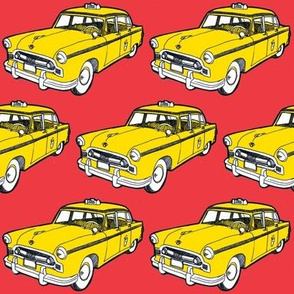 Nifty Fifties 1956-58 Checker taxi cab