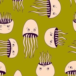 Jellyfish Migration