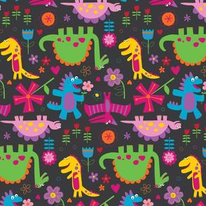 Dinos & Daisies