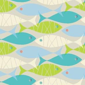 green fish blue fish