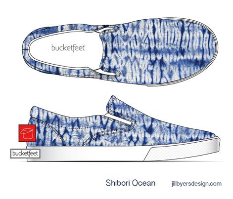 Shibori Ocean