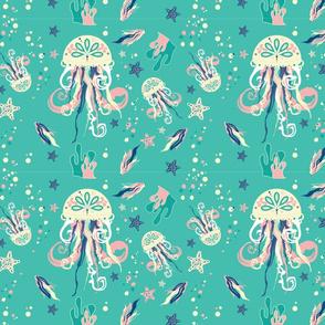 Bubbly Jellyfish