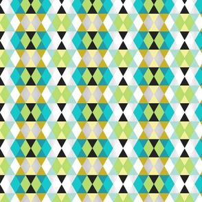 Mustard // Lime Sketch Diamonds