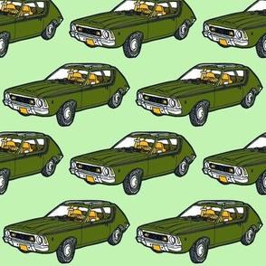 1970 - 1978  AMC Gremlin in green