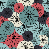 Abstract Floral Retro