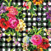 Floral Pop Gingham