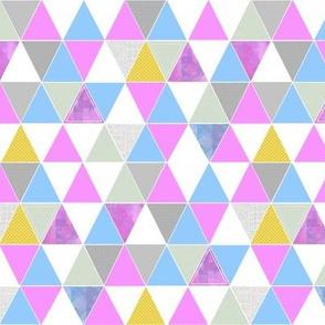 Wild Orchid Triangles // MINI