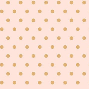 Polkadot - Blush Gold