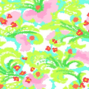 Tropical Abstract Floral