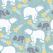 Bear and Rabbit Kids Space