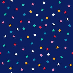 Chromatic Confetti Stars - Coordinate