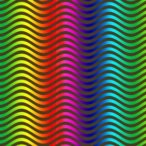 Tiny Rainbow Waves 12
