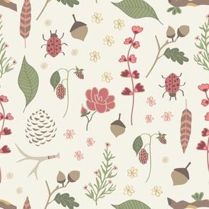 Woodland Fairytales - Companion Print