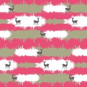 deer camo  2  LG - berry
