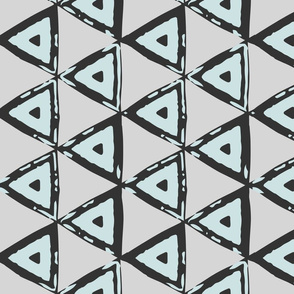 Mint Geometric Triangles