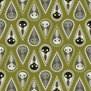 Geometric Ghosts - green