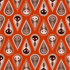Geometric Ghosts - red