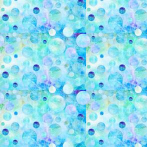 DREAM OF AN OCEAN BLUE SEA GARDEN Balloon Bubbles