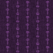 Ghost Stripes - purple