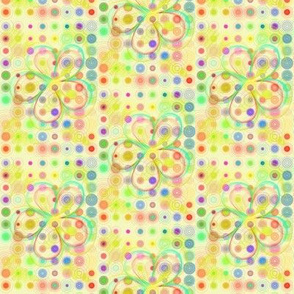 Flower Powered Pastel Grid