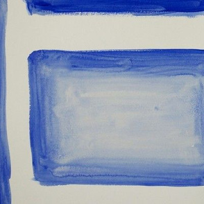 blue watercolor block